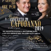 Concerto di Capodanno 2019 al Teatro Delle Palme Napoli