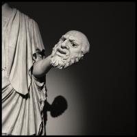 Al Museo Archeologico di Napoli con l'illustre fotografo Augusto De Luca