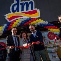 Apre a Peschiera del Garda il nuovo store di dm, la più grande catena commerciale europea  di prodotti per la cura della persona e della casa.