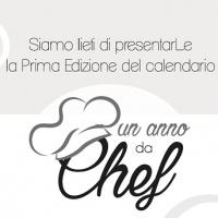 """La prima edizione del calendario """"Un anno da Chef """", nata da un'idea di Gianni Cesariello e Allegra Ammirati"""