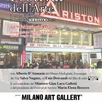 Milano Art Gallery: Sanremo apre il 69° Festival con Spoleto Arte di Sgarbi