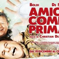 """Christian De Sica e Massimo Boldi: sabato """"Amici Come Prima"""" all'Uci Cinemas di Parco Leonardo."""