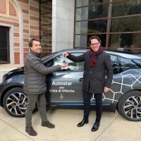 Mobilità sostenibile a Villorba:  una vettura elettrica al Comune grazie ad Autostar