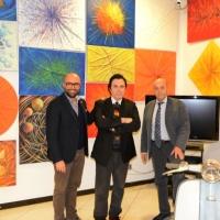 Massimo Paracchini alla Meeting Art con Free Sprinkling R-Evolution