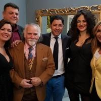 Spoleto Arte a cura di Sgarbi con Di Vizia della Rai, D'Atanasio del Premio Modigliani, l'artista José Dalì e tanti altri vip
