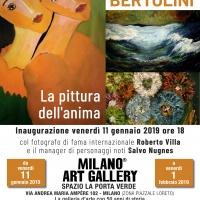 Milano Art Gallery: Salvo Nugnes, Maria Rita Parsi e Roberto Villa presentano Renata Bertolini