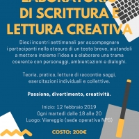 Laboratori di scrittura creativa e editoria a Viareggio