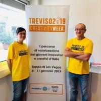 TREVISO CREATIVITY WEEK 2019, ANTEPRIMA A LAS VEGAS