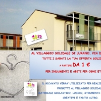 L'Outlet Solidale al Villaggio di Lurano (BG)