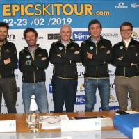 """""""EPIC SKI TOUR"""": ECCELLENZA SCIALPINISTICA. EVENTO AD HOC PER """"BISONTI"""" E FUORICLASSE"""