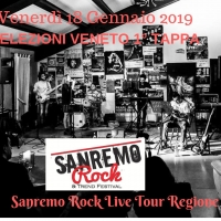 Le selezioni del Sanremo Rock arrivano in Veneto: venerdì 18/1 a Montebello Vicentino