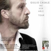 Giulio Casale in concerto con il nuovo album Inexorable, a Roma al Teatro Arciliuto il 23 gennaio