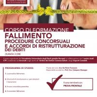 Accademia Universitaria degli studi Giuridici Europei - Fallimento, procedure concorsuali e accordi di ristrutturazione dei debiti