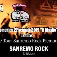 Il 32° Sanremo Rock arriva a Torino per le selezioni del Piemonte