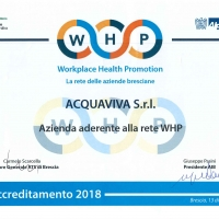Acquaviva aderisce alla rete di imprese del programma WHP Workplace Health Promotion