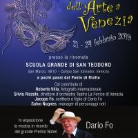 Spoleto Arte ricorda Dario Fo con Michele Placido per il Carnevale dell'arte a Venezia