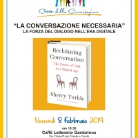 La conversazione necessaria di Sherry Tourkle
