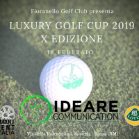 Ideare Communication sponsor del Luxury Golf Cup 2019