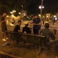 Nel degrado di piazza Carmine si diffondono i Diritti Umani