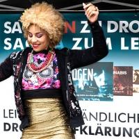La cantante Joy Villa si batte contro la diffusione delle droghe in Germania