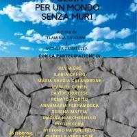 """A Roma un reading di poesia """"Per un mondo senza muri"""""""