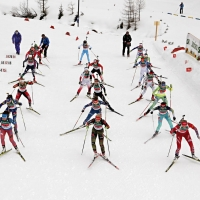 BIATHLON CHE PASSIONE IN VAL MARTELLO. DUE SPRINT E SUSPENSE ALLA MASS START 60