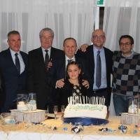 -Al Relais Villa Buonanno di Cercola festeggiato il compleanno di Francesco Principato, tra affetti familiari e amicizia, buona cucina e musica jazz. (Scritto da Antonio Castaldo)