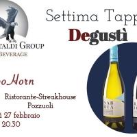 Degustì conduce a Capo Horn a Pozzuoli per la VII tappa del tour dei sapori della Luigi Castaldi Group in Campania