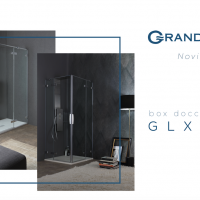 Novità 2019 Grandform: box doccia GLX8