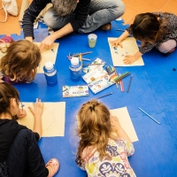 F.I.L.A.  al fianco dei bambini con GIOTTO Colore Ufficiale dell'Associazione Mus.e