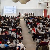 Taglio del nastro per la seconda edizione di White Energy Week,  il progetto di Alternanza Scuola-Lavoro promosso da Seaside