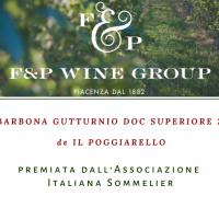 """""""La Barbona Gutturnio DOC Superiore 2014"""" de""""Il Poggiarello""""premiata dall'Associazione Italiana Sommelier"""