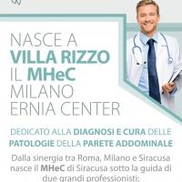 Ernia Center - nasce a Villa Rizzo il nuovo Centro  dedicato alla diagnosi e cura delle patologie della parete addominale