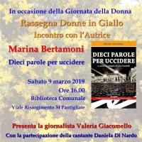 Incontro con l'autrice Marina Bertamoni a Pantigliate