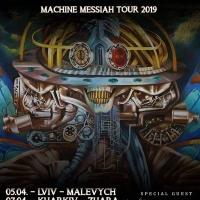 Minatox69 con i Sepultura in Ukraina per il Machine Messiah Tour 2019