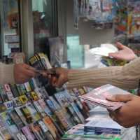 Padova: distribuzione di opuscoli contro le droghe nel centro storico