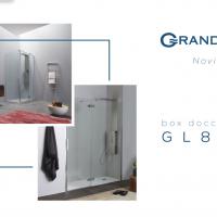 Novità 2019 Grandform: box doccia GL8