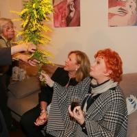 Maria Rita Parsi commuove la Milano Art Gallery per la mostra L'arte delle donne