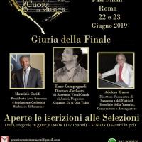 Concorso Canoro Premio Cuore in Musica Terza Edizione