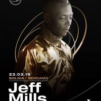 23/3 Jeff Mills fa muovere Bolgia - Bergamo