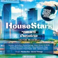 House Stars Miami by Monika Kiss: il 28/3 fa scatenare la Miami Music Week al Barsecco con The Cube Guys, Crazibiza, Victor Simonelli