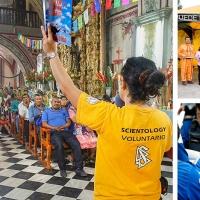I volontari della Chiesa di Scientology aiutano i terremotati del Messico