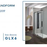 Novità 2019 Grandform: box doccia GLX6