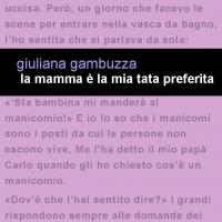 """Project Leucotea annuncia l'uscita in formato eBook del libro di Giuliana Gambuzza """" La mamma è la mia tata preferita"""""""