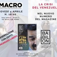 Il 4 aprile al MACRO di Roma, dibattito di geopolitica sulla crisi del Venezuela