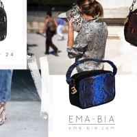 Silky 24 di EMA-BIA: la borsa pitonata, protagonista degli hot trend 2019