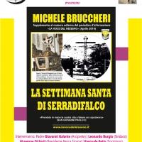 Michele Bruccheri pubblica «La Settimana Santa di Serradifalco»