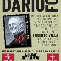 Dario Fo torna a Milano a 50 anni da Mistero Buffo, negli scatti del Maestro Villa