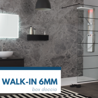 Novità 2019 Grandform: Walk-In 6 mm
