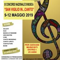 """Scade il 27 aprile il IX Concorso Nazionale di Musica """"San Vigilio In…Canto"""" istituito dall'Associazione Culturale """"Sperimentiamo Arte Musica Teatro""""."""